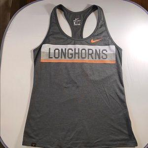 Nike Dri-Fit Texas Longhorns Athletic Tank